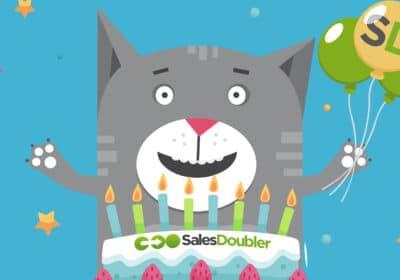 Продвижение страницы Salesdoubler в сфере B2B